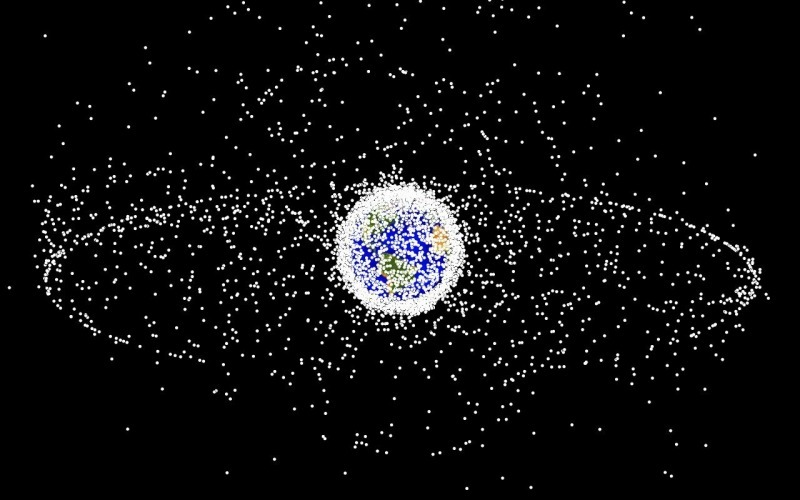 Space debris populations seen from outside geosynchronous orbit (GEO)